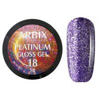 PLATINUM GLOSS GEL ARBIX 18 5 г