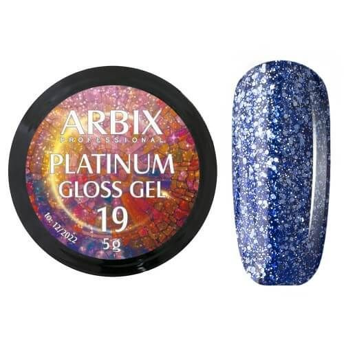 PLATINUM GLOSS GEL ARBIX 19 5 г
