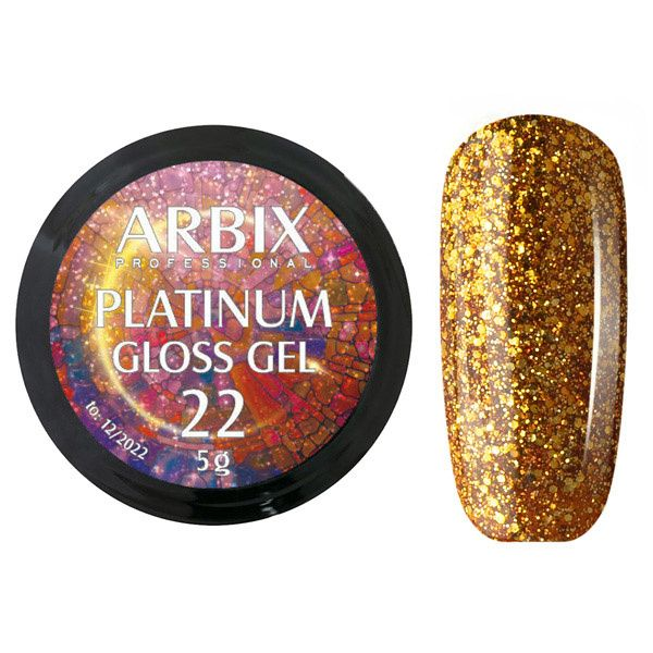 PLATINUM GLOSS GEL ARBIX 22 5 г