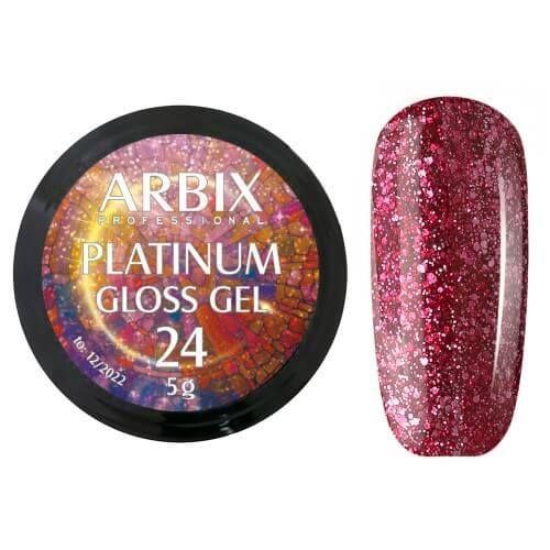 PLATINUM GLOSS GEL ARBIX 24 5 г