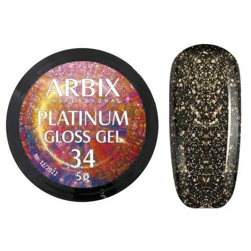 PLATINUM GLOSS GEL ARBIX 34 5 г
