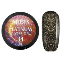 PLATINUM GLOSS GEL ARBIX 34 5 г
