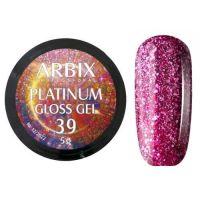 PLATINUM GLOSS GEL ARBIX 39 5 г