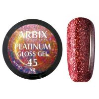 PLATINUM GLOSS GEL ARBIX 45 5 г