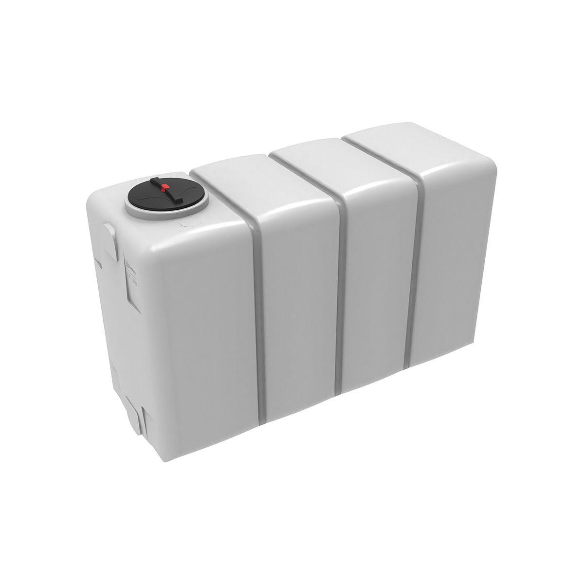 Емкость KR 4000 белая без обрешетки пластиковая