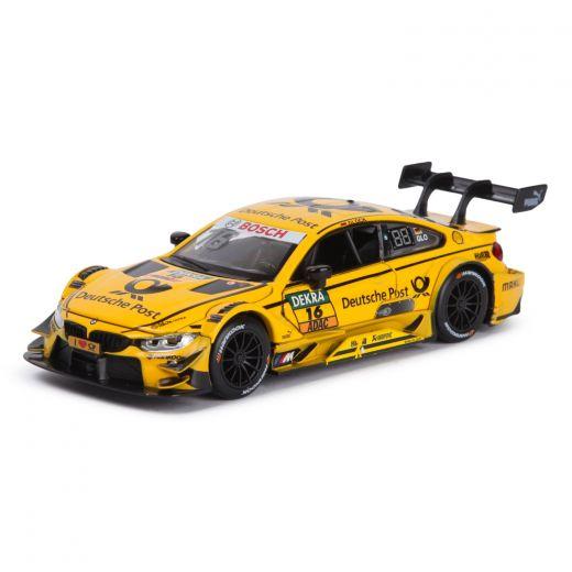 Машинка желтая коллекционная Kids