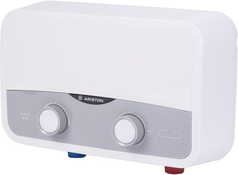 Проточный электрический водонагреватель Ariston Aures SF 5.5 COM (3520018)