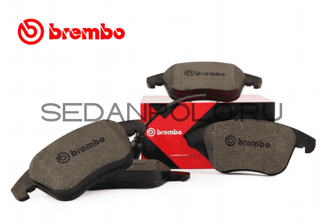 КОЛОДКИ ТОРМОЗНЫЕ BREMBO (ПЕРФОРАЦИЯ)1ZC VOLKSWAGEN POLO SEDAN/LIFTBACK/SKODA RAPID