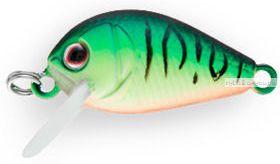 Воблер Strike Pro Crazy Plankton 21 мм / 1,3 гр / Заглубление: 0 - 0,4 м / цвет:  GC01S Mat Tiger