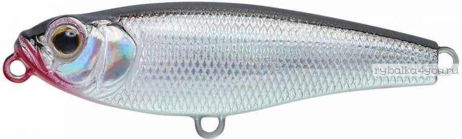 Воблер Strike Pro Lipstick 45 мм / 3,6 гр / цвет:  A010-EP Black Back Silver