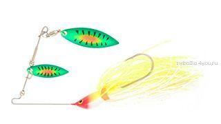 Спиннербейт Strike Pro Spinner Bait 14 мм / 13,8 гр / цвет:  C1C-A25/W3C-A25 (X10E-04/A25)