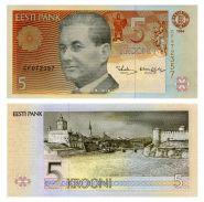 Эстония - 5 крон 1994. UNC ПРЕСС