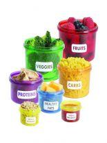 Набор контейнеров для правильного питания, 7 шт