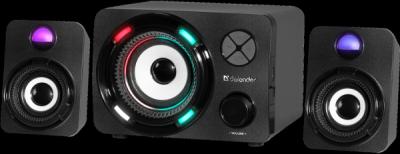 НОВИНКА. Акустическая 2.1 система G11 11Вт, Light/BT/FM/TF/USB/AUX