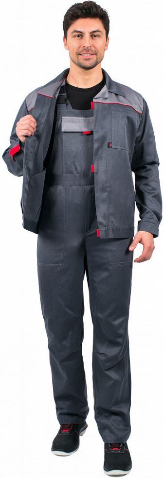 Костюм Фаворит-2 (тк.Смесовая,210) п/к, т.серый/серый