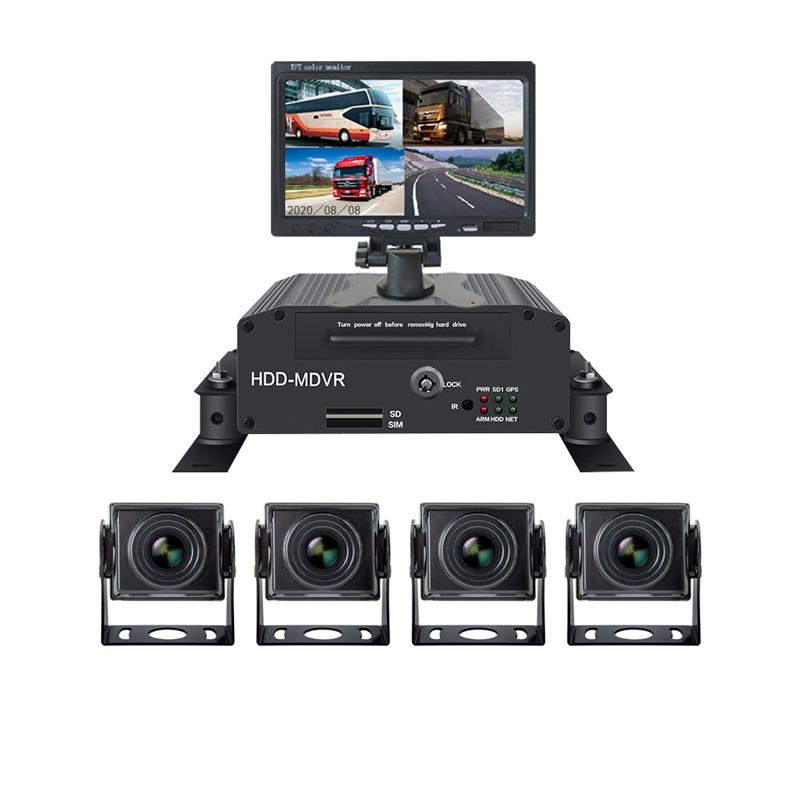 Камеры заднего вида для грузовика с монитором и видео регистратором (PZ615)