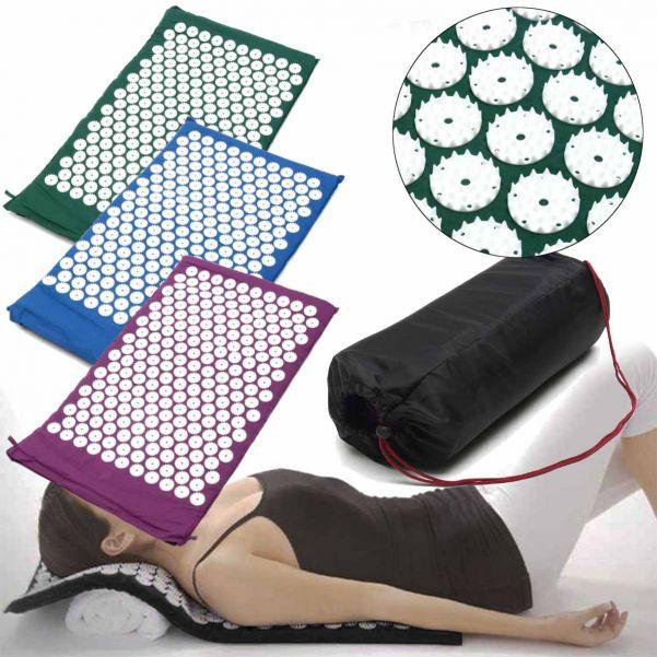 Акупунктурный массажный коврик Acupressure Mat