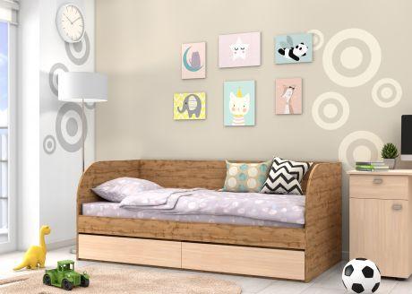 Детская кровать Golden Kids 7 (корпус дуб ВОТАН)