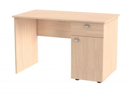 Компьютерный стол GK 120 P (правый Дуб молочный)