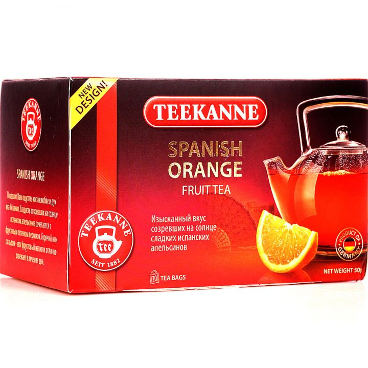 Чайный напиток Teekanne Испанский апельсин 20пак*2г
