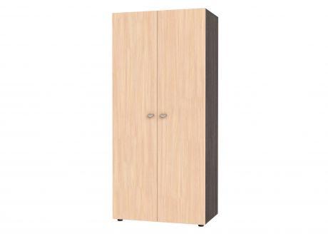 Шкаф двустворчатый GK 900 (корпус венге)