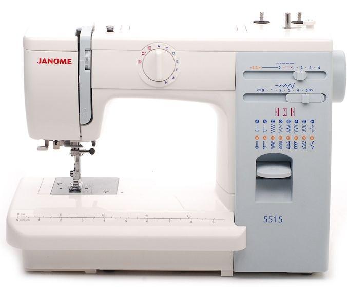Швейная машина JANOME 5515   /  цена 18600 руб.