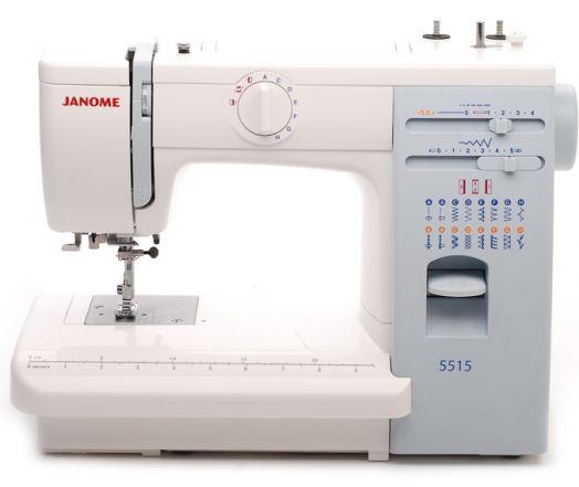 Швейная машина JANOME 5515   /  ЦЕНА ПО АКЦИИ -10% 16965 РУБ.!