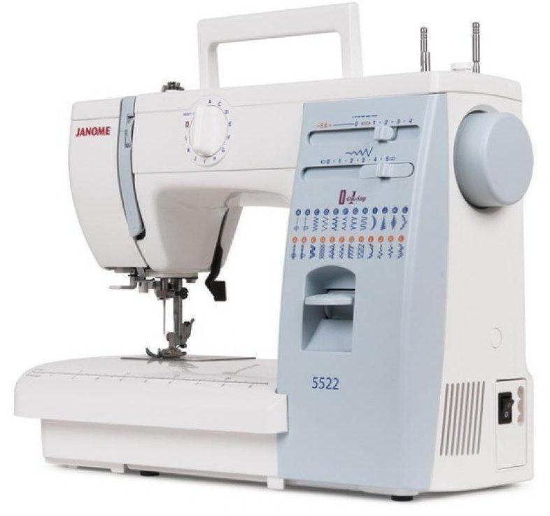 Швейная машина JANOME 5522  цена 20860 руб.