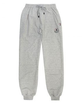Спортивные брюки-джоггеры серые