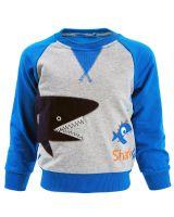 "Свитшот для мальчика 2-6 лет Bonito kids ""Shark"""