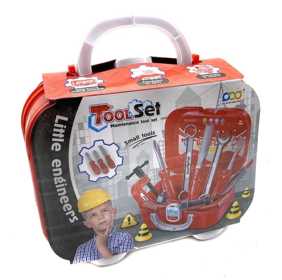 Игровой набор инструментов в кейсе, 14 предметов