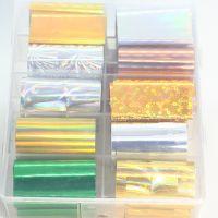 Фольга цветная 10 шт. набор 4647