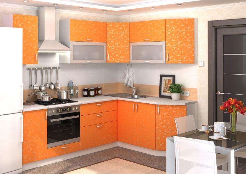 Кухня угловая Дина (вариант 4)