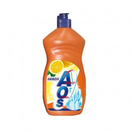 Ср-во д/посуды АOS 450мл Лимон фн