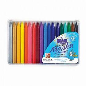 "Восковые карандаши. 18 цветов. ""Престиж"" 10С 518-08"
