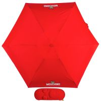 Зонт складной Moschino 8042-SMINIC Shadow Bear Red