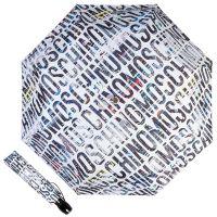 Зонт складной Moschino 8600-OCA Boombox White