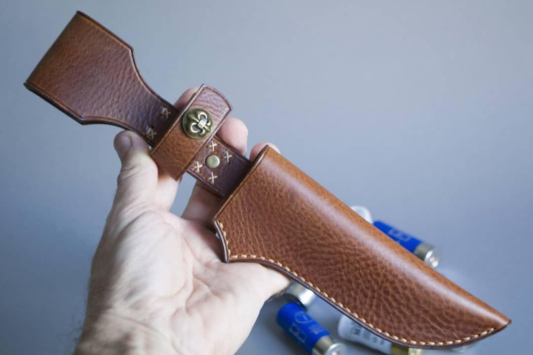 Ножны из натуральной кожи ручной работы