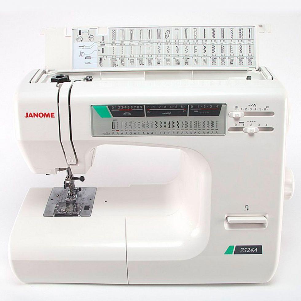 Швейная машина JANOME 7524a   цена 23100 руб.