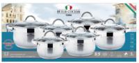 Набор посуды BELLA CUCINA BC-2087 12 предм.