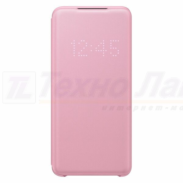 Чехол Samsung LED View Cover S20 pink