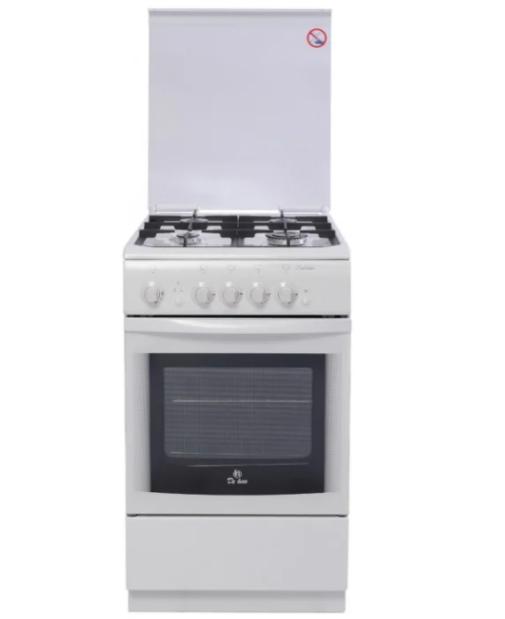 Газовая плита DE LUXE 506040.04Г (916903) Белая