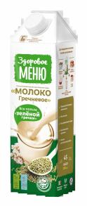 Молоко Гречневое Здоровое меню 1 л
