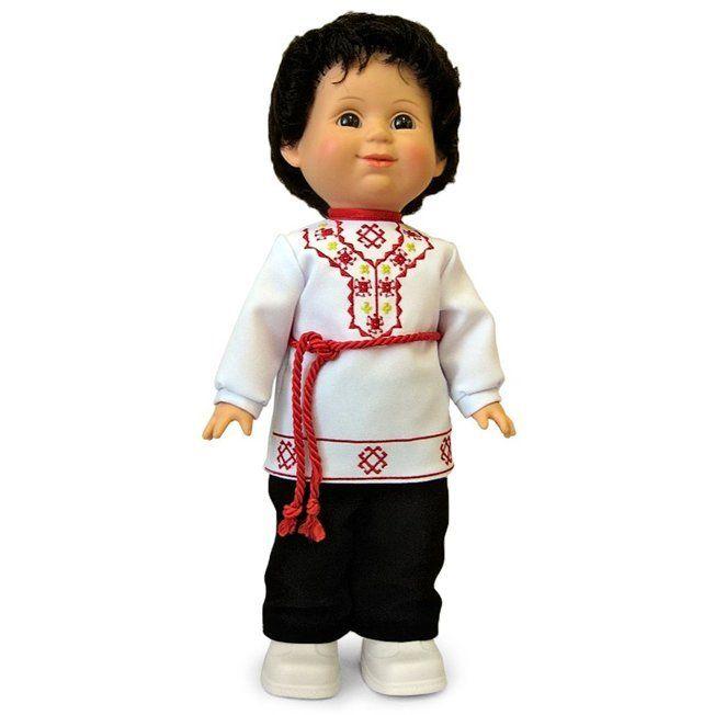 Кукла Сетнер Весна в чувашском национальном костюме