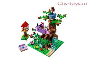 Конструктор Lari Подружки Оливия и домик на дереве 10158 (3065) 193 дет