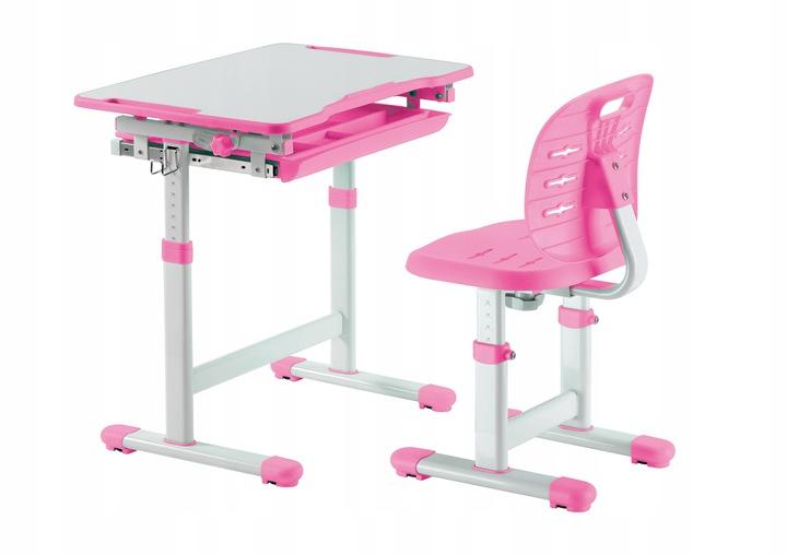 Растущая парта FunDesk Piccolino III Pink
