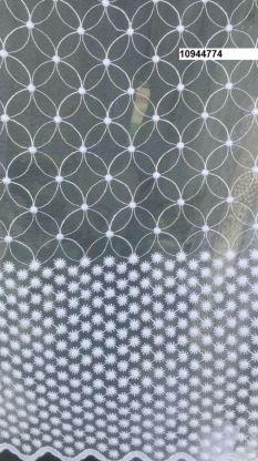 Тюль вышивка на сетке Турция 774