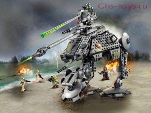 Конструктор LARI Star Wars Шагоход-танк АТ-AP 11424 (Аналог LEGO Star Wars 75234) 707 дет