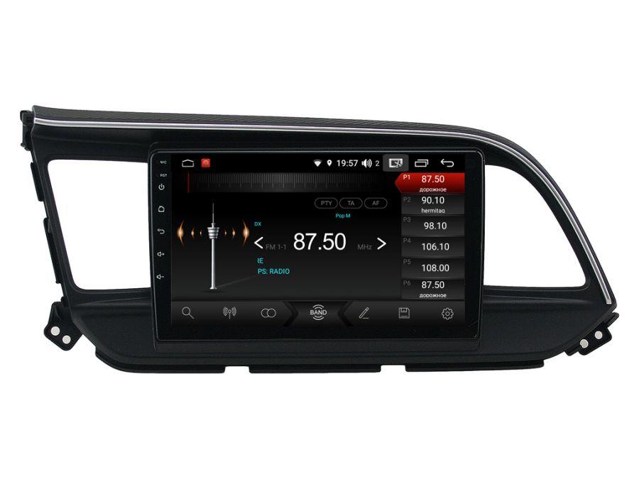 Магнитола для Hyundai Elantra (2016-2018) 09HL