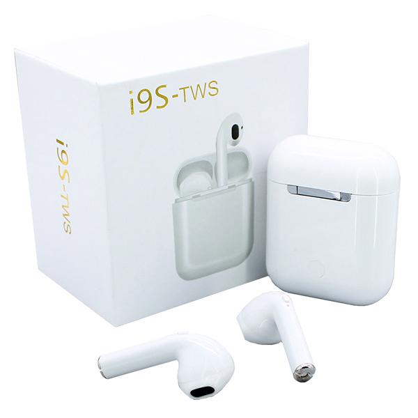 Беспроводные Bluetooth  наушники I9S-TWS с зарядным кейсом.